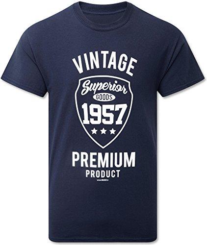 Vintage Premium Mens T-Shirt - £3.99 (Prime) £7.98 (Non Prime) @ Amazon