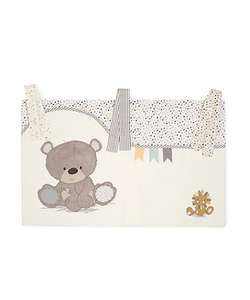 Mothercare teddy toy box cot pockets - was £20 now £7.50!