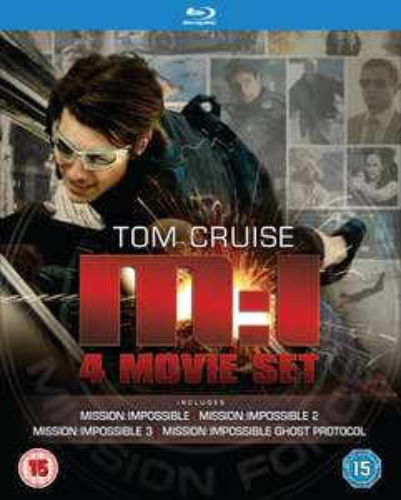 Mission Impossible 1-4 blu ray £6.30 (Prime) £8.29 (Non Prime) @ Amazon