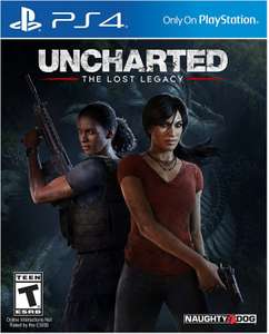 [PS4] Uncharted: The Lost Legacy - £9.99/£9.49 - CDKeys (US account)