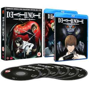 Death note blu-ray collection  £19.99 @ Zavvi