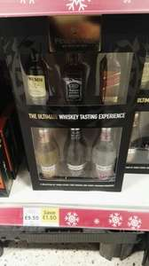 Whiskey tasting set @ Tesco - £9.50