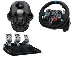 Logitech Driving Force G29/G920 Wheel & Gearstick Bundle £149 - Oculus Rift with two sensors and two touch controllers £349.99 @ Currys