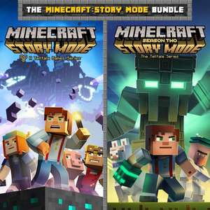 PS4 Minecraft story season 1 & 2 £11.99 @ PSN
