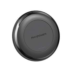 RAVPower Fast Wireless Charger for iPhone X / iPhone 8 / 8 Plus 7.5W Max Qi Wireless Charging Pad, a 24W QC 3.0 Adapter Included, Compatible with All Qi-Enabled Devices £29.99 delivered with code Sold by Sunvalleytek-UK and Fulfilled by Amazon
