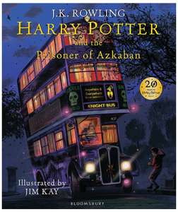 Harry Potter and the Prisoner of Azkaban: Illustrated Edition - £12.90 delivered @ Amazon