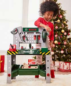 Bosch Workbench with Sound - £17.50 instore @ mothercare
