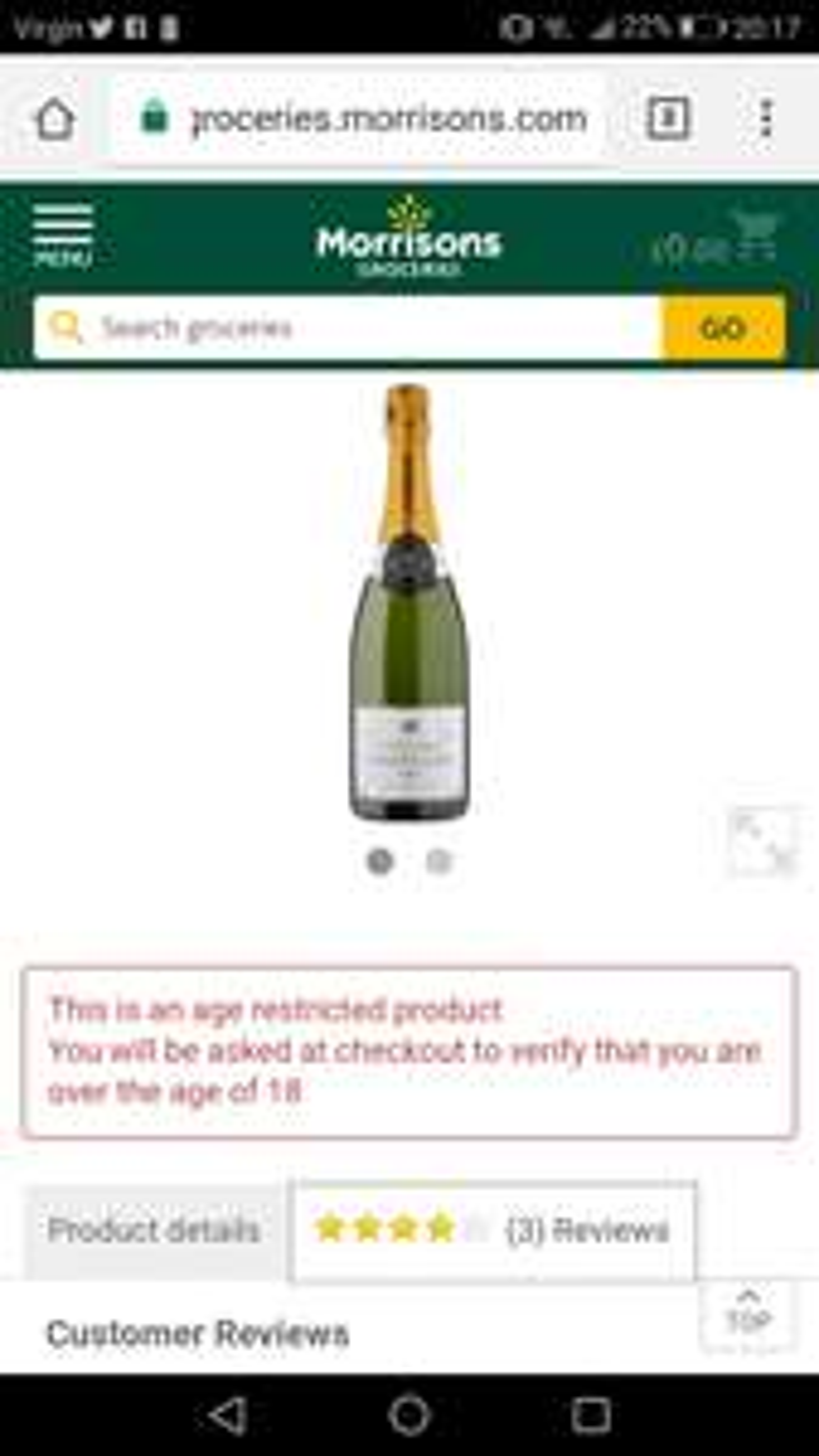 Gartissier Champagne - £10 @ Morrisons