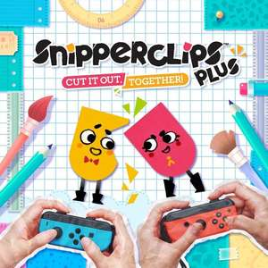 Snipperclips+ (Plus) Cut It Out; Together (Nintendo Switch) £18.95 @ TheGameCollection