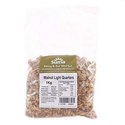 5 Kg of Walnut Quarters £38.67 - Amazon