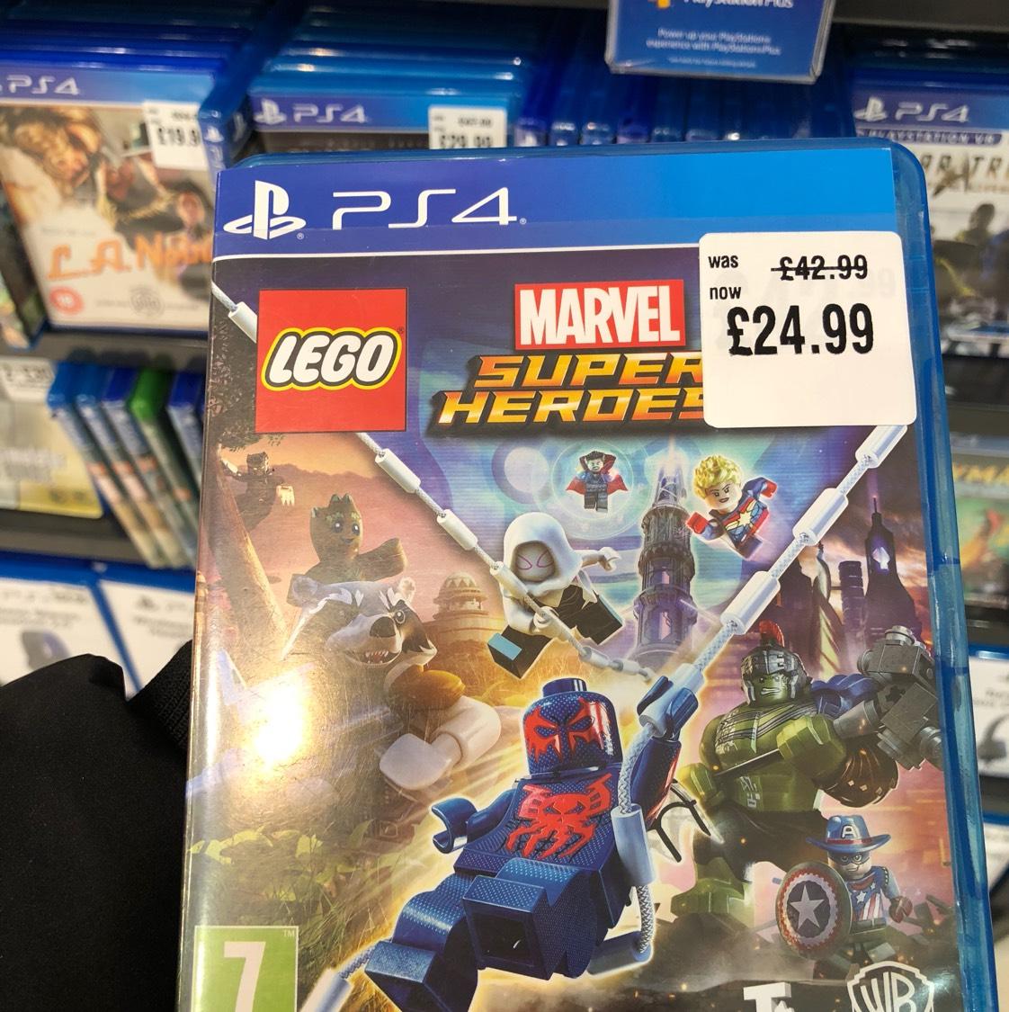 Marvel Lego super heroes 2 ps4/Xbox £24.99 @ hmv