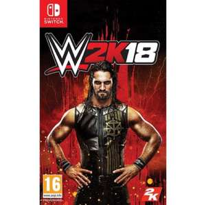 WWE 2K18 - Nintendo Switch / £24.95 @ Game Collection
