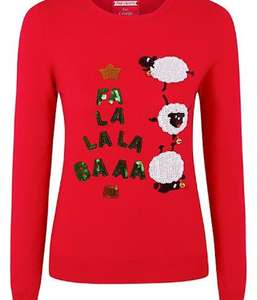 Half price Christmas jumpers online at ASDA