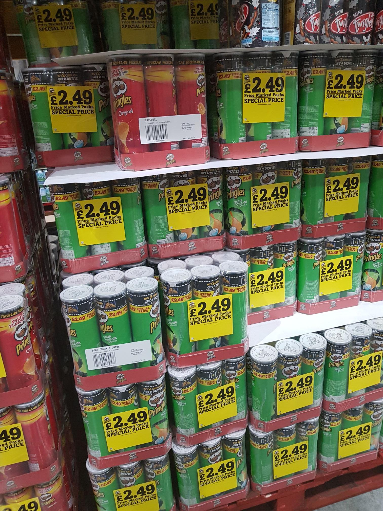 Pringles Costco Sheffield   6x200g £2.49