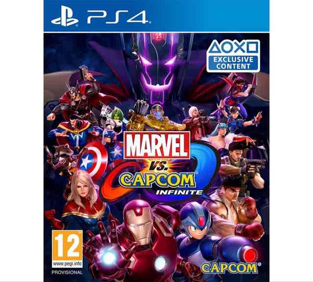 Marvel vs Capcom infinite PS4 Game £19.99 from £36.99 @ Argos