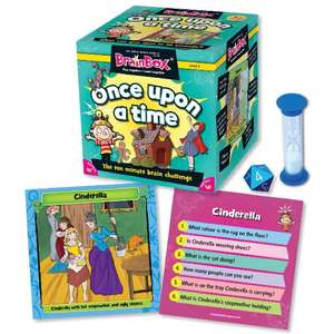 Brainbox card game once upon a time £5.99 delivered or instore at Aldi (girls fairy tales Disney etc)