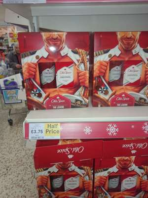 Old Spice Original 2 piece Gift Set £3.75 Tesco Extra