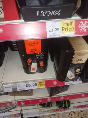 Half Price Lynx Adrenaline Trio Gift Set + 2 months unlimited Amazon music  £5.25 Tesco instore