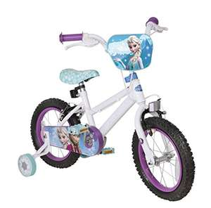Disney Frozen 14-Inch Bike with Removable Stabilisers now £40 Del @ Amazon