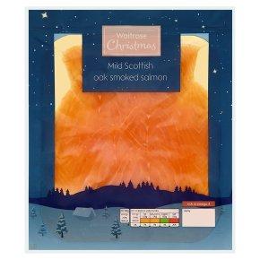 Waitrose mild and delicate Scottish smoked salmon with PYO £2.66