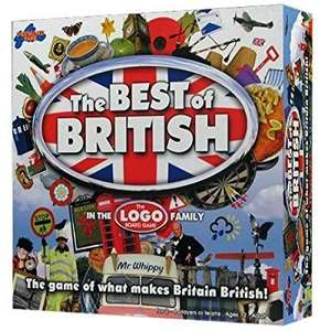 Best of British Board Game. £8.71 AMAZON PRIME MEMBER ONLY PRICE