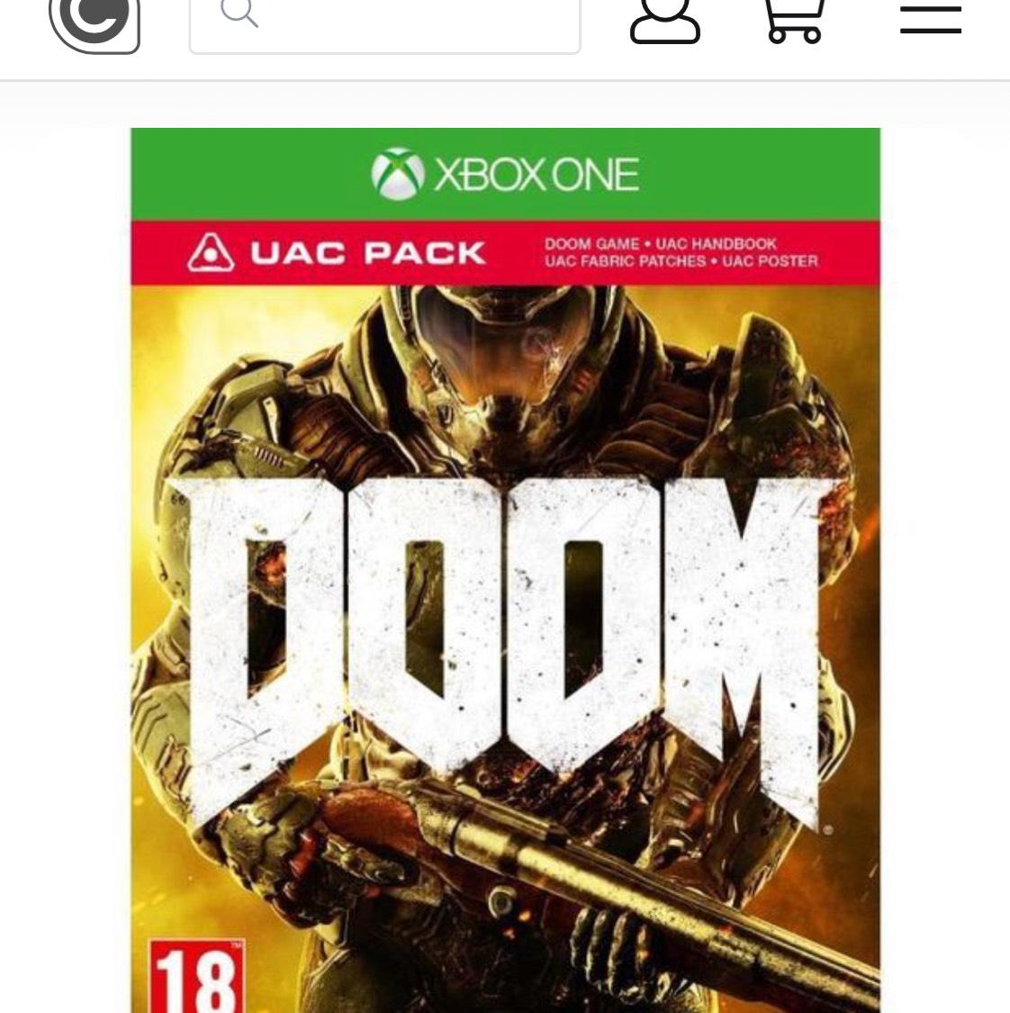 Doom collectors edition. £11.50 @ Coolshop