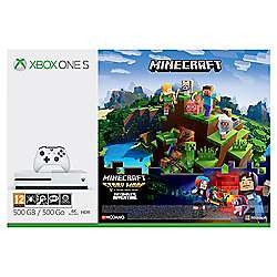 Xbox One S Minecraft Complete Adventures Bundle + 3 Months Xbox Live + 2nd Controller + Evil Within 2 + Wolfenstein 2 + Chat Headset just £239 @ Tesco