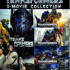 Transformers 5 Movie Collection 4K UHD £50.59 @ Amazon