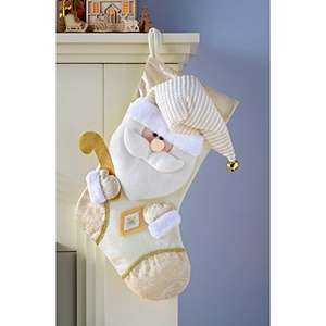 3d Santa Stocking...... 2.40 reduced from 7.99 (add on item) at Amazon