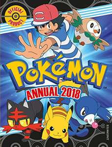 Pokemon Annual 2018 £2.95 delivered (Prime) £4.94 Non Prime  Xmas Eve - Amazon Prime.