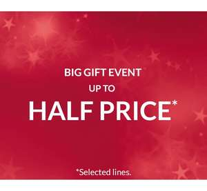 Up to 50% off Debenhams
