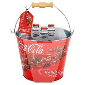 Coca Cola Ice Bucket with 3 x 330ml glass bottles £8 @Tesco