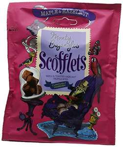 Monty Bojangles Scofflets - Maple & Hazelnut Cocoa Dusted Truffles 100g x 5 at Amazon for £6.95 Prime (£9.94 non Prime)