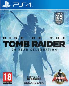 Rise of the Tomb Raider – PS4 at Shopto for £17.86