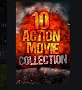 10 Action Movie Collection @ itunes for £9.99