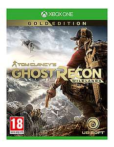 Tom Clancy's Ghost Recon Wildlands Gold Edition Xbox One @ GAME online for £34.99