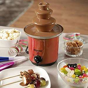 Elgento E26005R Mini Chocolate Fountain, Heat and Flow Settings, Red £15.99 (£19.98 non Prime) @ Amazon inc. free UK delivery (Amazon deal of the day)