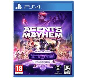 Agents of Mayhem PS4/Xbox £8.49 C+C@argos