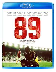 Relive 26th May 1989 with 89- How Arsenal did the impossible [Blu-ray] at Amazon for £10 (non Prime £11.99)