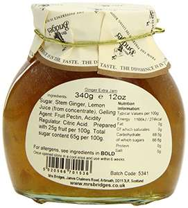 6 jars of Ginger preserve at Amazon for £5.36 Prime (£9.35 non Prime also Subscribe and price drops)