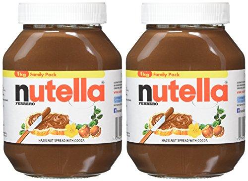 2 x Nutella 1 KG - £8.80 (Prime) £13.55 (Non Prime) @ Amazon