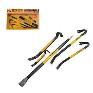 Roughneck Wrecking Bar Pry Crow Bar 5 Piece Assorted Set ROU64965 £10 at homebase in store