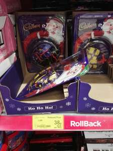 Cadbury tree choc decorations reduced in Asda