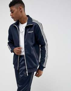 Adidas Originals Beckenbauer Track Jacket Navy At ASOS for £27