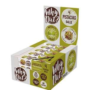 Why Nut Pistachio Snack Balls 15pack x 22g Prime Only