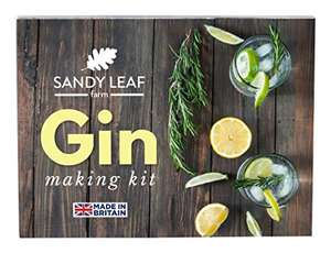 Gin Making Kit -Sold by Sandy Leaf Farm Ltd & Fulfilled by Amazon for £7.98 Prime (£11.97 non Prime)