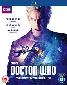 Doctor Who The Complete Series 10 BD £29.99 @ amazon