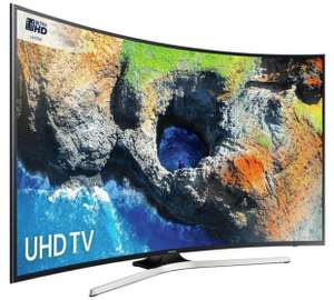 Samsung 55MU6220 55 Inch Curved 4K UHD Smart TV with HDR