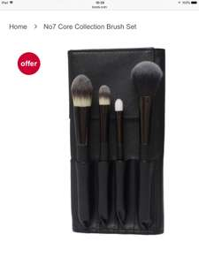 No7 Core Collection Brush Set £16 @boots