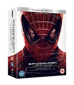 Spider-Man legacy 4K UHD boxset £70 @ Amazon